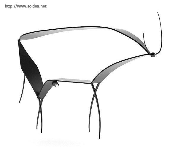 毕加索的牛 高清图片