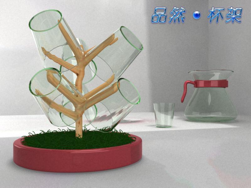 杯架设计 工业设计 建筑设计 原创 搜主意网